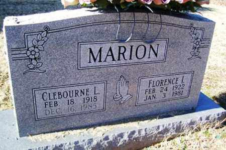 MARION, CLEBOURNE L - Crawford County, Arkansas | CLEBOURNE L MARION - Arkansas Gravestone Photos