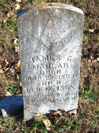MARLAR, JAMES G - Crawford County, Arkansas | JAMES G MARLAR - Arkansas Gravestone Photos