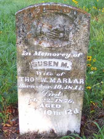 MARLAR, SUSEN M. - Crawford County, Arkansas | SUSEN M. MARLAR - Arkansas Gravestone Photos