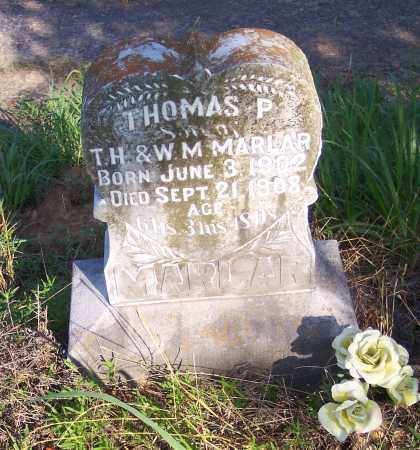 MARLAR, THOMAS P - Crawford County, Arkansas | THOMAS P MARLAR - Arkansas Gravestone Photos
