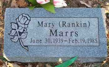 RANKIN MARRS, MARY - Crawford County, Arkansas | MARY RANKIN MARRS - Arkansas Gravestone Photos