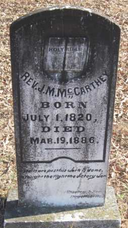 MCCARTHEY, J. M. REV. - Crawford County, Arkansas | J. M. REV. MCCARTHEY - Arkansas Gravestone Photos