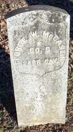 MCCASLIN  (VETERAN UNION), GEORGE W - Crawford County, Arkansas | GEORGE W MCCASLIN  (VETERAN UNION) - Arkansas Gravestone Photos