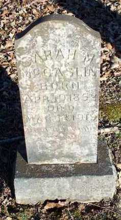 MCCASLIN, SARAH M. - Crawford County, Arkansas | SARAH M. MCCASLIN - Arkansas Gravestone Photos
