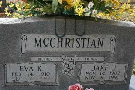 MCCHRISTIAN, EVA K - Crawford County, Arkansas | EVA K MCCHRISTIAN - Arkansas Gravestone Photos