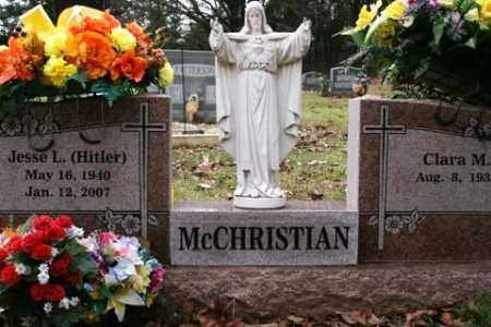 "MCCHRISTIAN, JESSE L ""HITLER"" - Crawford County, Arkansas 