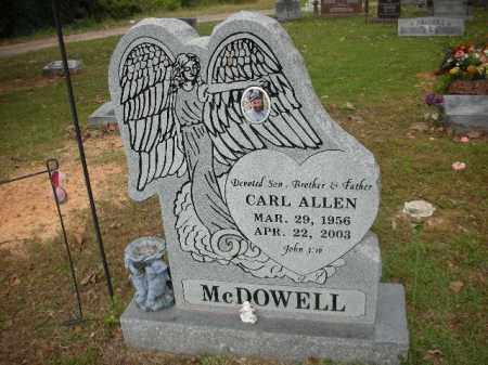 MCDOWELL, CARL ALLEN - Crawford County, Arkansas | CARL ALLEN MCDOWELL - Arkansas Gravestone Photos