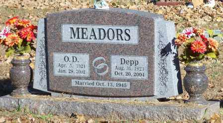 MEADORS, DEPP - Crawford County, Arkansas | DEPP MEADORS - Arkansas Gravestone Photos