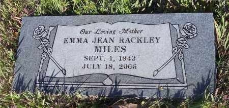 RACKLEY MILES, EMMA JEAN - Crawford County, Arkansas | EMMA JEAN RACKLEY MILES - Arkansas Gravestone Photos