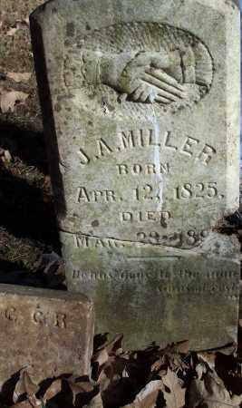 MILLER, J A - Crawford County, Arkansas | J A MILLER - Arkansas Gravestone Photos