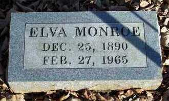 MONROE, ELVA - Crawford County, Arkansas | ELVA MONROE - Arkansas Gravestone Photos