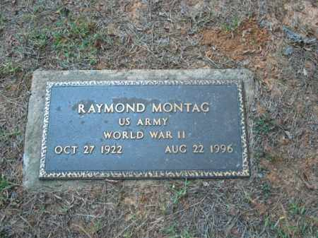 MONTAG (VETERAN WWII), RAYMOND - Crawford County, Arkansas | RAYMOND MONTAG (VETERAN WWII) - Arkansas Gravestone Photos