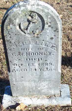 MOONEY, ANGELINE - Crawford County, Arkansas | ANGELINE MOONEY - Arkansas Gravestone Photos