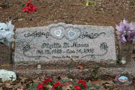 MOORE, PHYLLIS - Crawford County, Arkansas | PHYLLIS MOORE - Arkansas Gravestone Photos