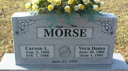 MORSE, CARSON L. - Crawford County, Arkansas | CARSON L. MORSE - Arkansas Gravestone Photos
