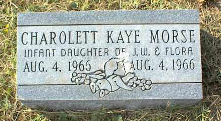 MORSE, CHAROLETT KAYE - Crawford County, Arkansas | CHAROLETT KAYE MORSE - Arkansas Gravestone Photos