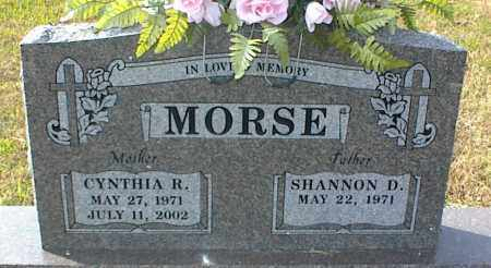 MORSE, CYNTHIA R. - Crawford County, Arkansas | CYNTHIA R. MORSE - Arkansas Gravestone Photos