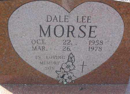 MORSE, DALE LEE - Crawford County, Arkansas | DALE LEE MORSE - Arkansas Gravestone Photos