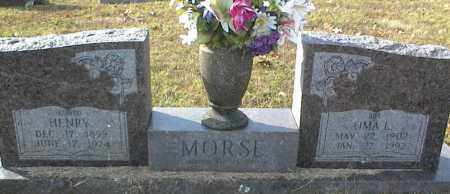 MORSE, OMA L - Crawford County, Arkansas | OMA L MORSE - Arkansas Gravestone Photos