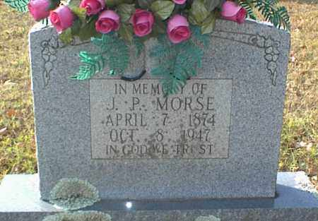 MORSE, J  P - Crawford County, Arkansas | J  P MORSE - Arkansas Gravestone Photos