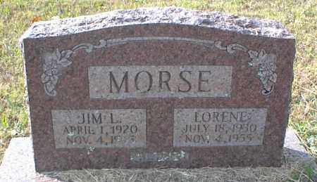 MORSE, LORENE - Crawford County, Arkansas | LORENE MORSE - Arkansas Gravestone Photos
