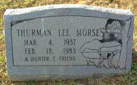 MORSE, THURMAN LEE - Crawford County, Arkansas | THURMAN LEE MORSE - Arkansas Gravestone Photos
