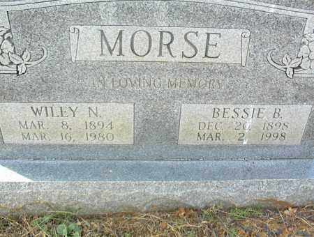 MORSE, BESSIE B. - Crawford County, Arkansas | BESSIE B. MORSE - Arkansas Gravestone Photos