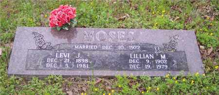 MOSES, LILLIAN M - Crawford County, Arkansas | LILLIAN M MOSES - Arkansas Gravestone Photos