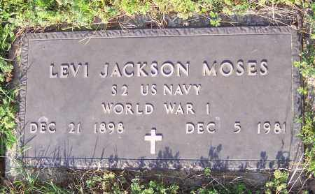 MOSES (VETERAN WWI), LEVI JACKSON - Crawford County, Arkansas | LEVI JACKSON MOSES (VETERAN WWI) - Arkansas Gravestone Photos