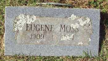 MOSS, EUGENE - Crawford County, Arkansas | EUGENE MOSS - Arkansas Gravestone Photos