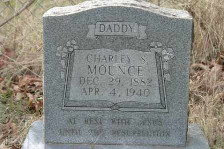 MOUNCE, CHARLEY S - Crawford County, Arkansas | CHARLEY S MOUNCE - Arkansas Gravestone Photos