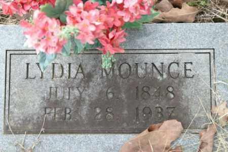 MOUNCE, LYDIA - Crawford County, Arkansas | LYDIA MOUNCE - Arkansas Gravestone Photos