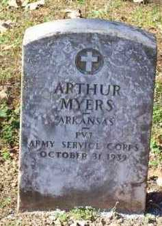 MYERS  (VETERAN), ARTHUR - Crawford County, Arkansas | ARTHUR MYERS  (VETERAN) - Arkansas Gravestone Photos