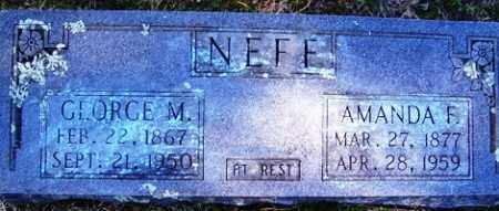 SPOON NEFF, AMANDA FRANCES - Crawford County, Arkansas | AMANDA FRANCES SPOON NEFF - Arkansas Gravestone Photos