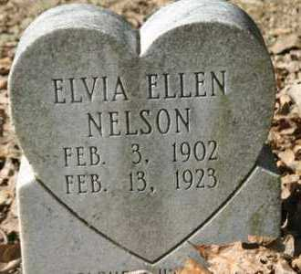 NELSON, ELVIA ELLEN - Crawford County, Arkansas | ELVIA ELLEN NELSON - Arkansas Gravestone Photos