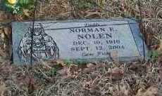 NOLEN, NORMAN E - Crawford County, Arkansas | NORMAN E NOLEN - Arkansas Gravestone Photos