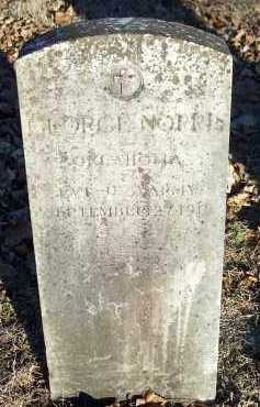 NORRIS (VETERAN WWI), GEORGE - Crawford County, Arkansas | GEORGE NORRIS (VETERAN WWI) - Arkansas Gravestone Photos