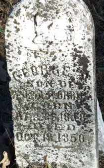 ORRICK, GEORGE A. - Crawford County, Arkansas | GEORGE A. ORRICK - Arkansas Gravestone Photos