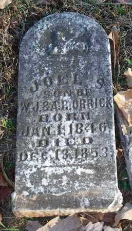 ORRICK, JOEL S - Crawford County, Arkansas | JOEL S ORRICK - Arkansas Gravestone Photos