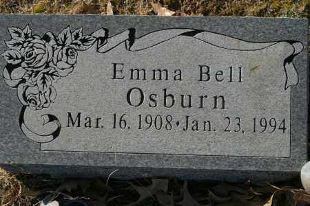 BELL OSBURN, EMMA - Crawford County, Arkansas | EMMA BELL OSBURN - Arkansas Gravestone Photos