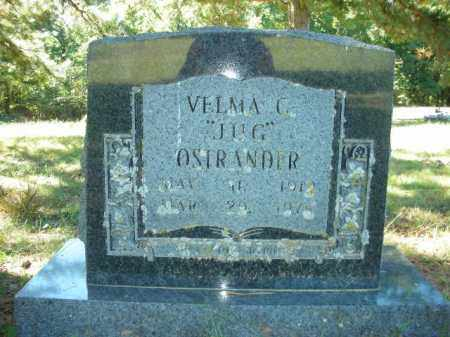 "OSTRANDER, VELMA C. ""JUG"" - Crawford County, Arkansas 