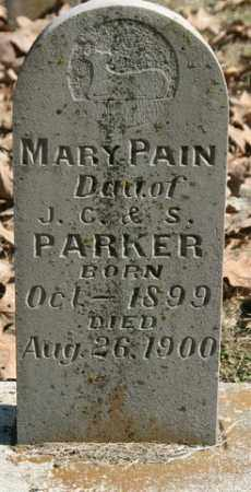 PARKER, MARY PAIN - Crawford County, Arkansas | MARY PAIN PARKER - Arkansas Gravestone Photos