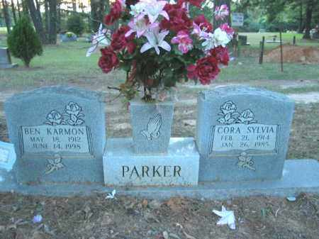 PLUM PARKER, CORA SYLVIA - Crawford County, Arkansas | CORA SYLVIA PLUM PARKER - Arkansas Gravestone Photos