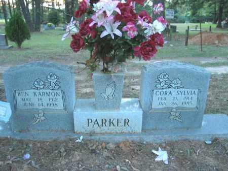 PARKER, CORA SYLVIA - Crawford County, Arkansas | CORA SYLVIA PARKER - Arkansas Gravestone Photos