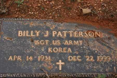 PATTERSON (VETERAN KOR), BILLY J - Crawford County, Arkansas | BILLY J PATTERSON (VETERAN KOR) - Arkansas Gravestone Photos