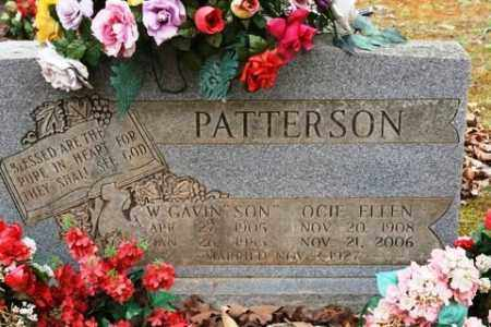 PATTERSON, W GAVIN - Crawford County, Arkansas | W GAVIN PATTERSON - Arkansas Gravestone Photos