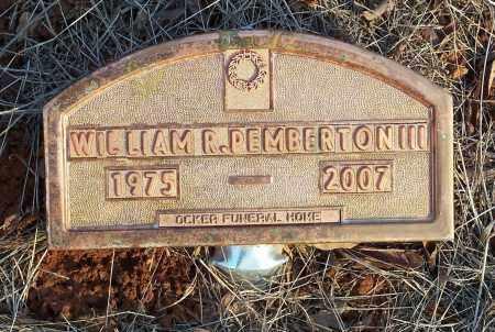 PEMBERTON, WILLIAM R., III - Crawford County, Arkansas | WILLIAM R., III PEMBERTON - Arkansas Gravestone Photos