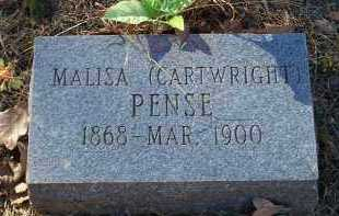 CARTWRIGHT PENSE, MALISA - Crawford County, Arkansas | MALISA CARTWRIGHT PENSE - Arkansas Gravestone Photos