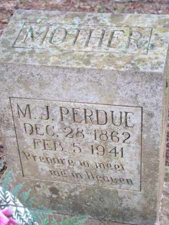PERDUE, M J - Crawford County, Arkansas | M J PERDUE - Arkansas Gravestone Photos