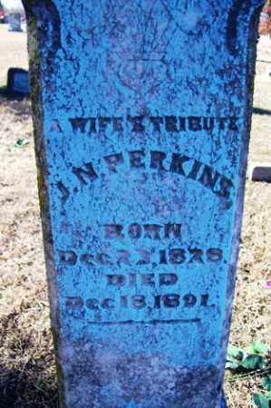 PERKINS, J  N - Crawford County, Arkansas | J  N PERKINS - Arkansas Gravestone Photos